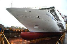 Costa Diadema, ammiraglia di Costa Crociere: la cerimonia del varo tecnico a Porto Marghera