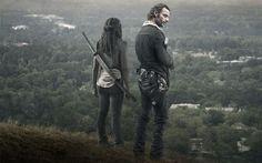 Começou a guerra entre o grupo de Rick e os salvadores de Negan - Michonne e Rick: The Walking Dead s06e12