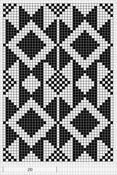 Discover thousands of images about Mustrilaegas: AA Kirjatud kudumid / Patterned knits Tapestry Crochet Patterns, Crochet Motifs, Bead Loom Patterns, Crochet Chart, Filet Crochet, Beading Patterns, Cross Stitch Patterns, Crochet Gratis, Knitting Charts