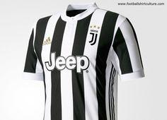 17/18 Kits | Football shirt blog | - the new Juventus 17/18 Home Kit by Adidas.