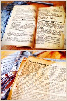 Wunderchönes altes Kochbuch http://fraufruehling.de/eine-kulinarische-zeitreise-das-kochbuch-aus-einer-anderen-zeit/