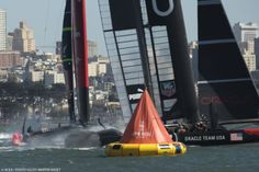 Emirates Team New Zealand 7- ORACLE TEAM USA 1 | BLU&news
