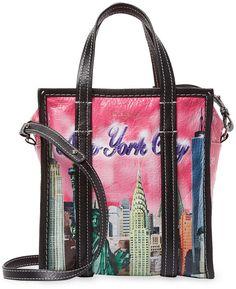 398919d657d2 Balenciaga Bazar Xs New York Leather Shopper Tote Shopper Tote