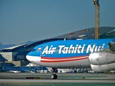 Air Tahiti nui A340- 300 Air Tahiti, Tahiti Nui, Fly Air, Airplane, Aviation, Aircraft, Logos, Plane, Logo