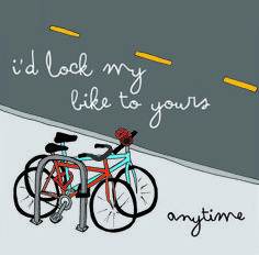 adorable bike valentines from sf bicycle coalition $0 www.redrockbicycle.com