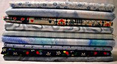 Vintage Fabric Fat Quarter Sampler Elmena by CurlicueCreations, $9.00
