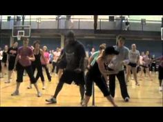 """Bottoms Up"" Zumba Routine. He getting his Zumba on more than the instructor! Zumba Fitness, Fitness Diet, Fitness Motivation, Dance Fitness, One Song Workouts, Workout Songs, Workout Videos, Dance Workouts, Zumba Videos"