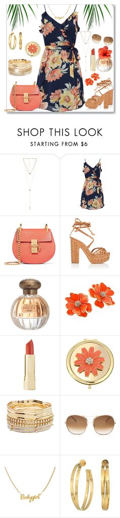 """Tropicana"" by ladylillie ❤ liked on Polyvore featuring 8 Other Reasons, Joie, Chloé, Alchimia Di Ballin, Tocca, Kenneth Jay Lane, Liz Claiborne, Charlotte Russe and Tory Burch"