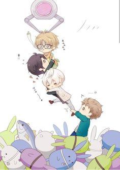 Beautiful Flower Tattoos, Beautiful Butterflies, Anime Chibi, Manga Anime, Inuyasha And Sesshomaru, Tsukiuta The Animation, Cute Anime Boy, Anime Boys, Butterfly Tattoo Designs