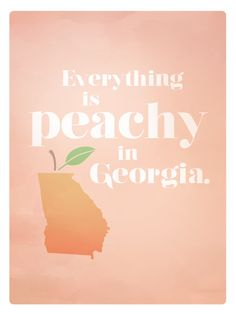 """""""Georgia is a truly diverse state. With mountains, ocean front, rural communities, and a sprawling metropolis, this state seems to have it all. It often flies under the radar, but you won't find a more pleasant place. In Georgia, even the air smells like peaches."""""""