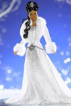 aa Barbie Dolls | Winter Fantasy Barbie Doll (AA)