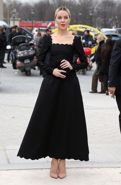 Ulyana Sergeenko - Arrivals at the Valentino Fashion Show