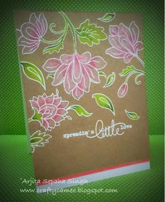 Hi friends,    I fell in love with the Altenew stamps at first sight. The stamps are so different and versatile . We can achieve various l...