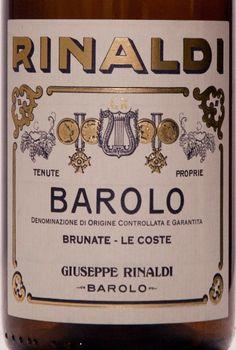 rinaldi barolo - Google Search
