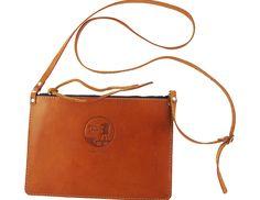 leather shoulder clutch via Spring Finn & Co.