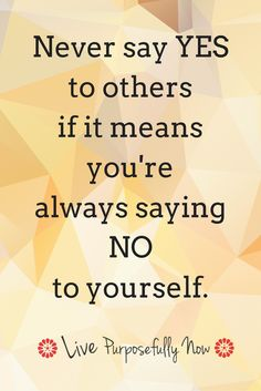 To be valued by others you must first value yourself.