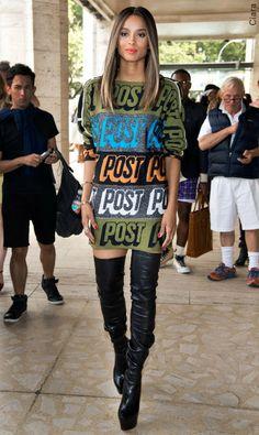 Ciara, otk boots, cuissarde de façon sport