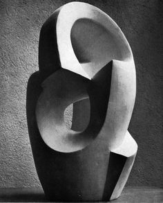 'Construction' )1953) by French sculptor & architect Andre Bloc (1896-1966). via Archive of Affinities on tumblr