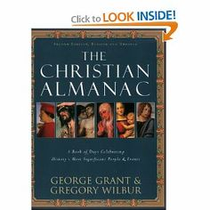 A day-by-day recounting of the significant moments of Christian and Western history. In it are famous births, deaths, world events, and notable anniversaries of the last 2,000 years.