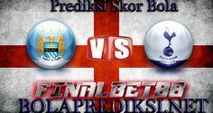 Prediksi Manchester City vs Tottenham Hotspur 22 Januari 2017