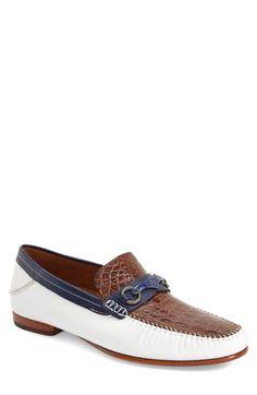 0c43ac812a6 Men s Mezlan  Gaudi Venetian  Genuine Crocodile Bit Loafer Mens Shoes  Boots