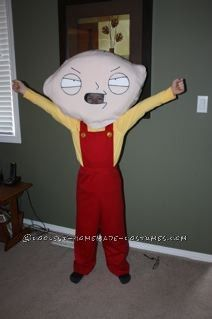 Diy panda costume how to make a panda costume pinterest panda coolest stewie griffin halloween costume for a boy solutioingenieria Choice Image