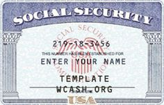 1000 images about temps on pinterest driver 39 s license for Make a social security card template