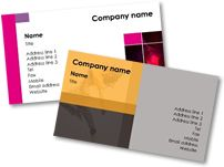 Free Printable Business Cards, Brochure & Posters Templates! You can also customize it ;) #Brother #AtYourSide