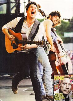mumford & sons ahhhh I love them!! ❤ they have such a good time when they preform!