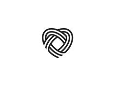 Found by Nicky Genov . Heart . Lines Logo Design . Graphic Design