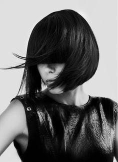 8ac0eaa05a Medium Brown straight choppy bob womens haircut hairstyles for women Brown  Straight Hair, Medium Brown