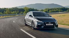 Hyundai's first proper hot hatch the N, has been given the Project C upgrade package with revised suspension and less weight. N Project, Auto News, Honda Cr, 4k Hd, Future Car, Fiat, Vehicles, Rolling Stock, Futuristic Cars