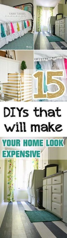 Expensive Looking Home Decor, Expensive Looking DIY, DIY Projects, Home Improvement Projects, Easy Home Improvement Projects, Home Improvement Hacks, Home Organization, DIY Home Decor