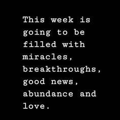 Good things are on the way! Double tap if you agree