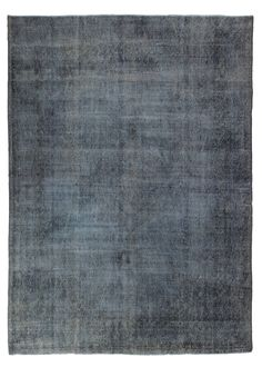 Overdyed Distressed Vintage Turkish Rug in Gray | From a unique collection of antique and modern turkish rugs at https://www.1stdibs.com/furniture/rugs-carpets/turkish-rugs/