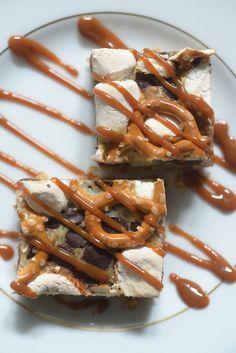 Pretzel S'more Crunch Bar   Cupcakes & Cashmere