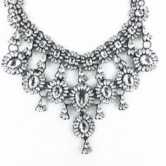 2015 tassel exaggerated long Chain Crystal necklace women fashion statement necklaces & pendants for women fashion jewelry-in Chain Necklaces from Jewelry on Aliexpress.com | Alibaba Group