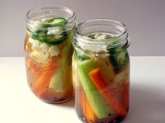 Quick Refrigerator Pickles & Pickled Vegetables