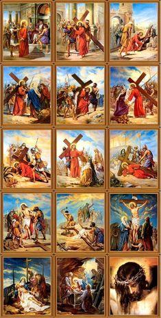 Bela Via Crucis - Tornadoes Catholic Pictures, Pictures Of Jesus Christ, Bible Pictures, Jesus Christ Painting, Jesus Art, Christian Artwork, Christian Pictures, Religious Images, Religious Art