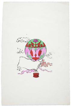 Hot Air Balloon Andy Warhol