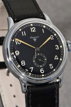 Wagner Urofa Caliber 58 wristwatch of the German armed forces... for SOLD  for sale from a Trusted Seller on Chrono24 1459a1faae1