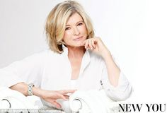 70 is the new 50! Martha Stewart on aging gracefully and maintaining a tiny waist