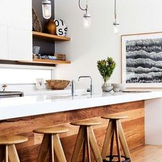"""Coast chic kitchen   Desire to Inspire #interior #interiors #interiordesign #interior_design #design #designinspiration #design_inspiration #kitchen"" Photo taken by @elleestebelle on Instagram, pinned via the InstaPin iOS App! http://www.instapinapp.com (12/14/2015)"
