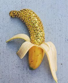 Sequined banana