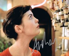 Audrey Tautou caused critics to swoon with her performance in Amelie, and for many films since, but when it comes to style, it's her adorable pixie cut that. Messy Pixie Haircut, Long Pixie Hairstyles, Wavy Pixie, Fringe Haircut, Long Pixie Cuts, Cool Hairstyles, Audrey Tautou, Amelie Haircut, Layered Hair