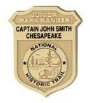 Captain Joh Smith Chesapeake National Historic Trail.  Download your copy of the Junior Ranger Activity Book, take a virtual tour, fill in all of the activity pages, send the completed pages and your signed pledge to the Junior Ranger Program in Yorktown, VA and get a great badge to add to your collection.