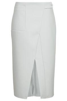 Premium Utility Midi Skirt