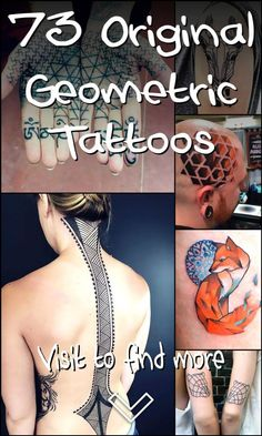 73 Original Geometric Tattoos