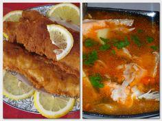 Fish Recipes, My Recipes, Yummy Food, Tasty, Hungarian Recipes, Ricotta, Thai Red Curry, Minion, Mashed Potatoes