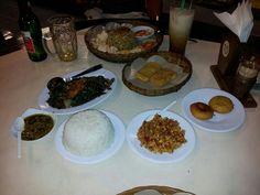 Sundanees food @ Tuban-Kuta, Bali